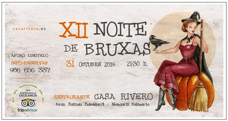 XII Noite de Bruxas en Casa Rivero