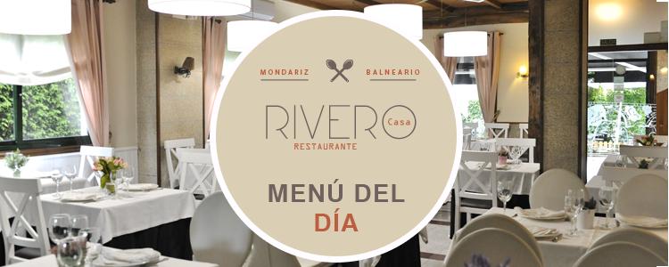 Menú del día - Restaurante Casa Rivero